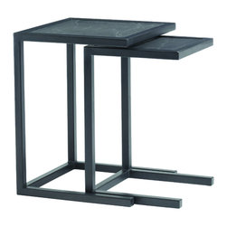 Lexington - Lexington 11 South Proximity Nesting Tables 457-957 - Functioning as end tables yet versatile as free-standing utility tables whose legs slide conveniently under upholstered seating.