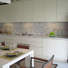 Tropical Kitchen Cabinetry by Melior Kitchen