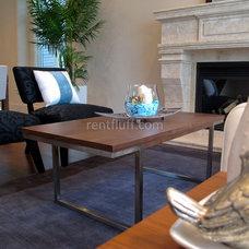 Contemporary Living Room by Flüff Designs & Decor