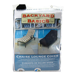 None - Mr. BBQ Full-Length Outdoor Chaise Lounge Cover - This Mr. BBQ Full-Length Outdoor Chaise Lounge Cover features dual layer polyester designed for strength and weather resistance. This eco-friendly chaise lounge cover is mold and mildew resistant.