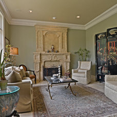 Traditional Living Room by Total 360 Interiors