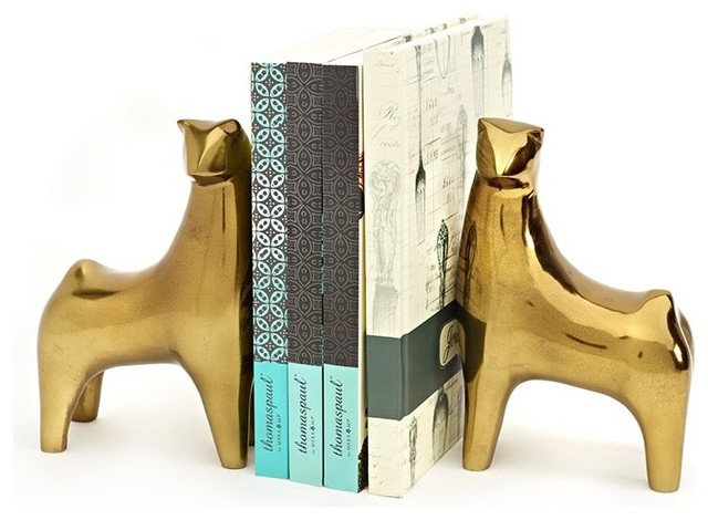 Eclectic Bookends by Indigo