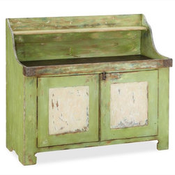 Ellsworth Entertaining Buffet - Crafted of gmelina wood, this rustic entertaining buffet has a warm demeanor and would easily welcome guests into any fall get-together.