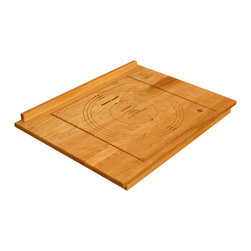 Catskill Craftsmen - Catskill's Over-the-Counter Pastry Board - Reversible - The rail of this practical cutting board grips onto countertop edges. Imprinted on its non-stick workspace are circles marking off common pastry sizes. mpn 3265