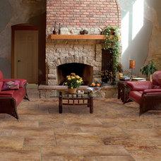 Mediterranean Floor Tiles by CheaperFloors