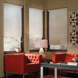Blindsgalore - Blindsgalore Solar Shades - Block the bright light and damaging UV rays with a solar screen roller shade without losing your view.
