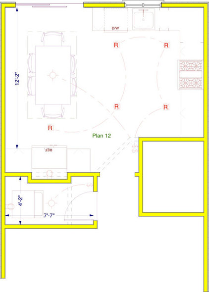 Kitchen Makeover floorplan