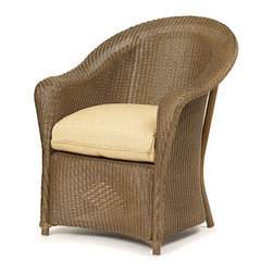 Wicker Paradise - Replacement Cushions for Lloyd Flanders Reflections Dining Chair - Our replacement cushions are made to fit Lloyd Flanders wicker furniture. Replace your existing cushions to give a new look to your collection! The cushion is offered in Dupione Bamboo premium fabric.