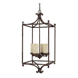 Capital Lighting - 4 Light FoyerHighlands Collection - Beginning with design concepts from popular home fashions, they transform their ideas into lighting fixtures that blend timeless beauty with today's styling.