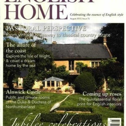The English Home 1-Year Subscription - One of my favorite decor magazines is The English Home. Full of peeks into homes I dream of living in, they offer wonderful ways to bring yard-sale finds into the home and help welcome a touch of English country charm.