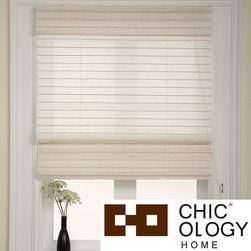 None - Chicology Serenity Rice Roman Shade (30 in. x 72 in.) - This window treatment provides softened light and moderate privacy from the outdoors. This roman shade is a great option for large/small windows,glass doors,room divider,wall decor,closet cover,bookshelf cover and more.