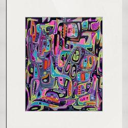 Kourosh Amini - Original Art Works By Kourosh Amini, La Surprise - Artist: Kourosh Amini