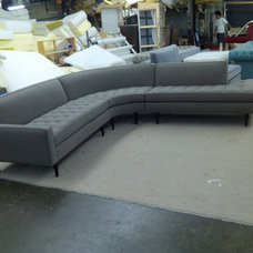 modern sectional sofas by Monarch Sofas