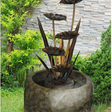 traditional outdoor fountains by Hayneedle