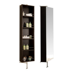 Due Rotating Mirror Cabinet