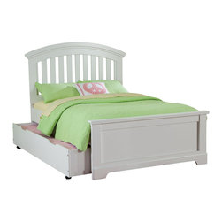 Standard Furniture - Standard Furniture Reagan Kids' Panel Slat Bed in White - Twin without Trundle - Reagan Bedroom offers the perfect solution for rooms that have a smaller footprint, yet still need lots of storage.
