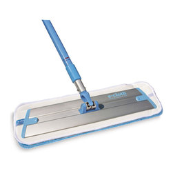e-cloth - E-Cloth Deep Clean Mop - Dry mops that use static cling to lift dirt and grime from floors covered with all types of hard surfacing are much less of a hassle than ordinary mops.