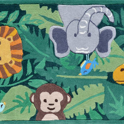 The Rug Market - Jungle Party area rug -