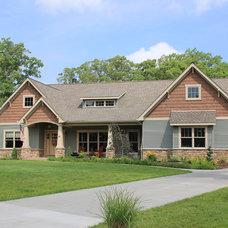 Exterior by Curtiss W. Byrne Architect, LLC