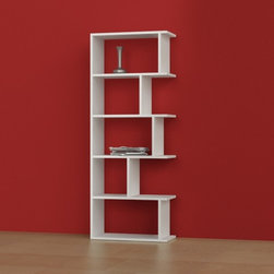 Tapi Bookcase by Decortie White - Decortie