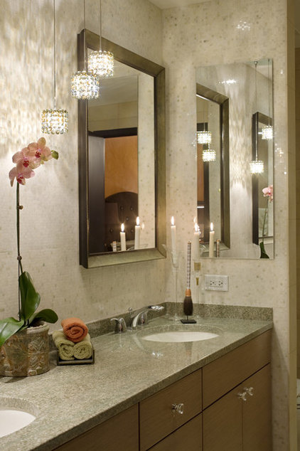 Transitional Bathroom by Deb Reinhart Interior Design Group, Inc.