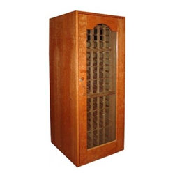 Vinotemp - VINO-SONOMA180-WW Sonoma 180-Bottle Capacity Wine Cooler Cabinet  White Wash - Vinotemp introduces the Sonoma Series its newest line of attractive high-quality cold storage solutions for your wines Each Sonoma wine cellar boasts a sturdy cherry wood construction complemented by hidden hinges and a special lock that enhance its ...