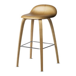 Gubi Counter Stool - This stool is so simple yet its construction is a bit tricky. It's a great combination of light wood, a lovely curve or two, and a silhouette that doesn't overwhelm and stays beneath the counter height. By the way, the MoMA has given its stamp of approval as well, so you know it's a good investment!