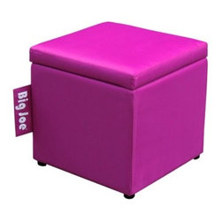 Big Joe 15 in. Square Ottoman - Your feet will be thanking you once they experience the Big Joe 15 in. Square Ottoman and its unmatched comfort. This fine ottoman has a durable SmartMax upholstery that comes in your choice of color. It has a stunning contemporary style and is stuffed with ultimaX beads for unmatched comfort.About Comfort ResearchTen years ago Comfort Research created the Fuf chair, an innovative update on the classic bean bag chair made of patented Fuf foam. This special blend of foam never goes flat for long-lasting comfort. Based in Grand Rapids, Michigan, Comfort Research has recently developed several new lines of creative, inventive chairs. They have addressed the needs of eco-friendly consumers by creating incredibly comfortable green chairs; one style is made with buckwheat filling and organic cotton, the other uses recycled polystyrene filling and a special fabric made of recycled pop bottles. No matter which style or shape of chair you choose, you can be sure that your Comfort Research product will look great and stay comfortable for years to come.