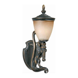 Triarch International - Triarch 75531-14-R Lion Oil Rubbed Bronze Outdoor Wall Sconce - Triarch 75531-14-R Lion Oil Rubbed Bronze Outdoor Wall Sconce