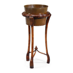 Jonathan Charles - New Jonathan Charles Plant Stand Walnut - Product Details