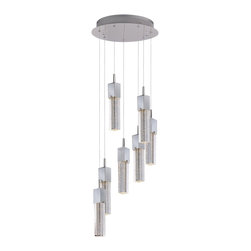 ET2 - ET2 Fizz Iii Pendant Light X-CP98-76722E - This forever popular collection is now better than ever. High output LEDs now illuminate the bubble glass pendants. The LED modules produce 20% more light, 90% less heat, 25 time longer life, and 75% less energy than the previous halogen lamp. You also still have dimming capability, adding a personal touch to your space.