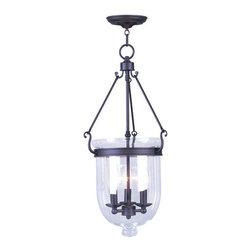 Livex Lighting - Livex Lighting 5064 Jefferson 3 Light Pendant - Product Features: