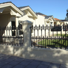 Traditional Home Fencing And Gates by Hindmarsh Fencing & Wrought Iron Security Doors