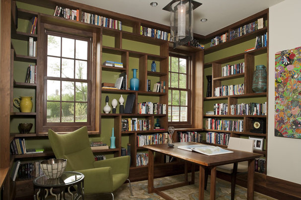 Modern Home Office by Beinfield Architecture PC