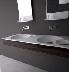 contemporary bathroom sinks by DNA+
