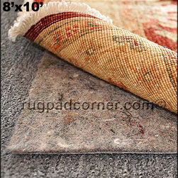 No-Muv Rug to Rug Pad - Keep Rugs Flat on Carpet - No-Muv rug and carpet pad is the only rug pad that truly works to keep rugs flat and wrinkle free on top of carpet. Use No-Muv under any area rug on carpet as the best rug to rug pad to hold rug to the carpet. We have used No-Muv rug pad in many rooms to keep the rug flat.
