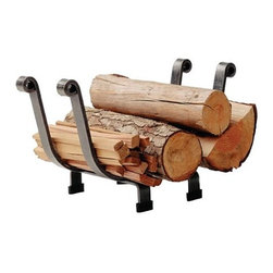 "Enclume - Log Basket - Dimensions: 18""L x 10""W x 12""H"