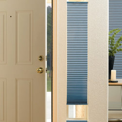 Cellular Shades Hunter Douglas Duette Sidelight Top Down