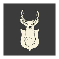 Oh, Deer Print - These spirited creatures move fast. Catch one and bring it home with an everlasting and charming print.