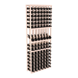 Wine Racks America - 7 Column Display Row Wine Cellar Kit in Pine, White Wash - Display rows allow presentation of favored and coveted labels. Your best vintages will greet onlookers in style. All the edges of our products are softened to ensure you won't get nicks or splinters, like you will from budget brands. You'll be satisfied. We guarantee it.