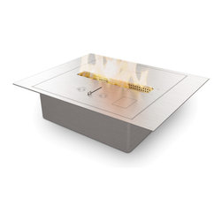 EcoSmart Fire - BK2UL Bioethanol Burner - This sophisticated burner design is the most independently tested of the range and has special safety features that eliminate many of the hazards common with most other brands on the market.
