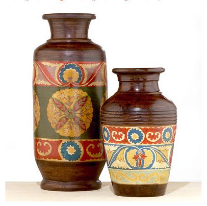 eclectic vases by World Market