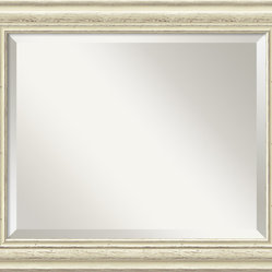 Country Whitewash Wall Mirror
