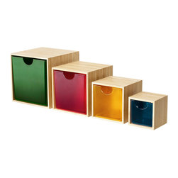 Ikea PS 2012 Drawer - These colorful drawers are beyond perfect for making extra storage wherever it's needed.