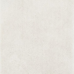 """Loloi Rugs - Loloi Rugs Fresco Shag Collection - Ivory, 5' x 7'-6"""" - The new Fresco Shag Collection is hand-tufted in China of 100-percent polyester. Thin and thick yarns strategically are tufted into place for a textured look that is totally chic. Surprisingly affordable, Fresco shags come in a lively variety of colors: mocha, storm, red, ivory, beige, bronze, ash, sea-foam green and peacock."""