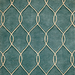 Momeni Rug - Momeni Rug Bliss 2' x 3' BS-12 Teal BLISSBS-12TEL2030 - With hand carving to bring depth, the Bliss Collection is perfect for the transitional home that blurs the line between traditional and contemporary. These rugs are hand tufted from the softest blends of polyester and are meant to stand the test of time. Bliss spotlights bold patterns and rich earthen colors that add character and personality to any room in the home.