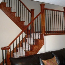 Contemporary Staircase 93-McIntyre-Drive-Barrie