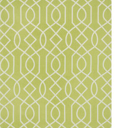Alexander Home - Flatweave Ledbury Lattice Cotton Rug (5'0 x 7'6) - You simply can't go wrong with the bold designs and lively colors in our new Ledbury Rugs. Printed in India on a cotton canvas,Ledbury has a fun,casual look that uplifts any interior.