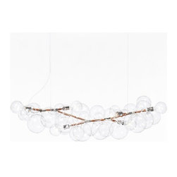 Pelle Designs - Pelle Designs | Long Bubble Chandelier - Design by Jean and Oliver Pelle, 2013.