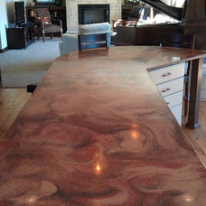 Traditional Kitchen Countertops by Marble Works, Inc
